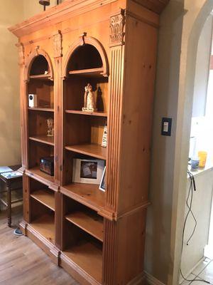 Pulaski solid wood bookshelves for Sale in Spring, TX