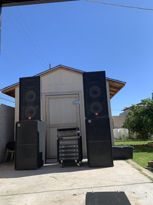 DJ Audio EV JBL QSC AMPS for Sale in Phoenix, AZ