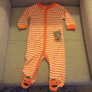 Halloween pumpkin PJs 9mos for Sale in Falls Church, VA