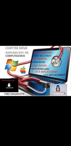 COMPUTER COMPUTADORA LAPTOP MACBOOK DESKTOP IMAC APPLE ANDROID REMOTE ACCESS AVAILABLE for Sale in El Monte, CA