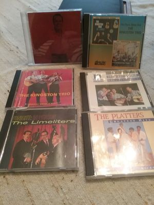 7CD's Belfonte(2), The Limelighters, The Platters, the Kingston Trio for Sale in Monroe, WA