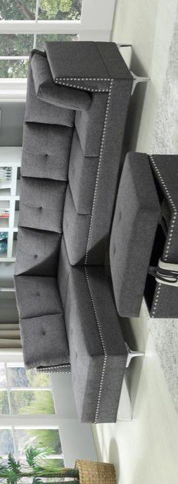 🔔FREE OTTOMAN 🔔Astra Gray Sectional for Sale in Brooklyn Park, MD