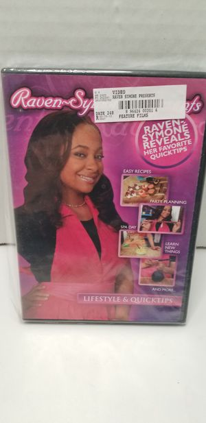 Raven symone reveals dvd for Sale in Piney Flats, TN