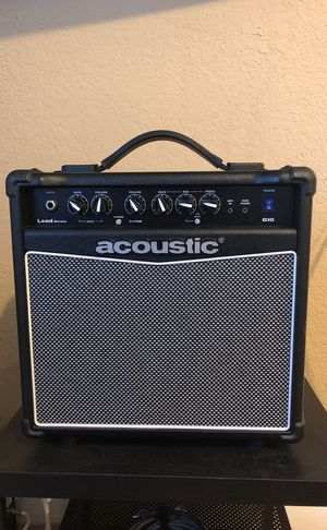 Acoustic G10 amplifier for Sale in San Diego, CA