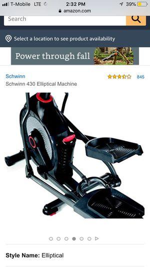 Schwann Elliptical Machine 430 for Sale in The Woodlands, TX