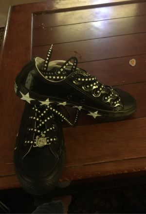 Converse X Miley Cyrus Chuck Taylor All Star Low Top Black White women's 5.5 for Sale in Milpitas, CA