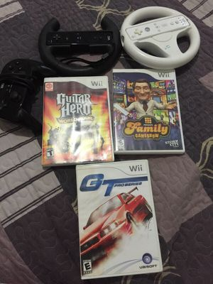 Wii games and controllers for Sale in Beltsville, MD