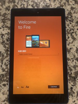 "Amazon Fire HD 8 Tablet 8"" (Blue) for Sale in Austin, TX"