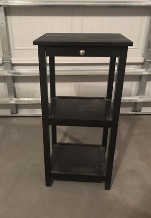 Dark mocha side table for Sale in Bel Aire, KS