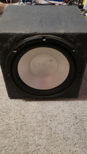 Infinity reference svc 12in sub, single sealed box for Sale in BRUSHY FORK, WV