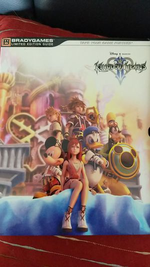 Kingdom Hearts 2 players guide for Sale in Lake Worth, FL