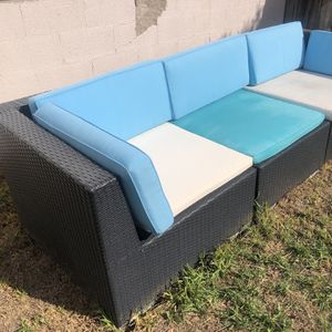 3-Piece Patio Furniture with Cushions for Sale in Costa Mesa, CA