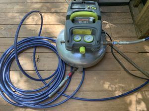 Evolv 3 Gallon Pancake Air Compressor w/ hose for Sale in Hiram, GA