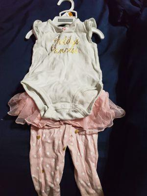 6-9 months baby girl cute 2 piece set for Sale in Miramar, FL