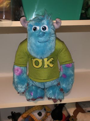 Disney Monsters Inc Sully battery operated talking plush doll for Sale in Phoenix, AZ