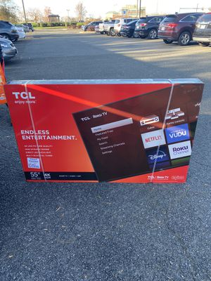 "TCL 55"" Class 4K UHD LED Roku Smart TV HDR 4 Series 55S425 for Sale in Alexandria, VA"