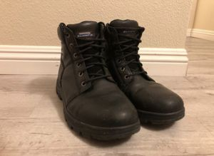 Leather Steel Toe Work Boots - size 12 for Sale in Torrance, CA
