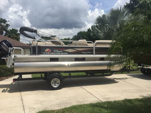 Pontoon boat for Sale in Wahneta, FL