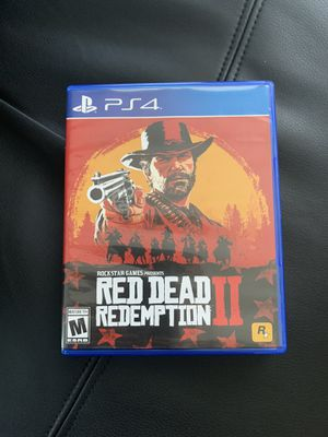 Red Dead Redemption II PS4 for Sale in Tamarac, FL