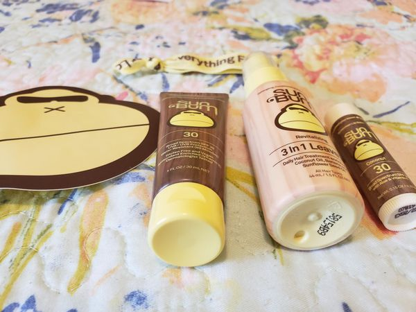 Sun Bum Travel sized products