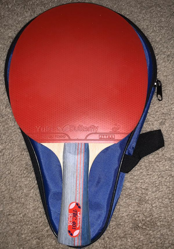 Butterfly 401 Table Tennis Racket Ping Pong