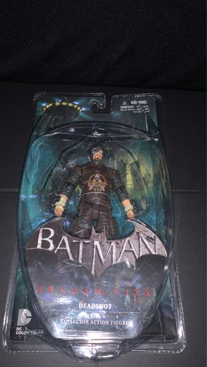 DC Comics Batman Arkham City DeadShot collectors figure for Sale in Gilbert, AZ