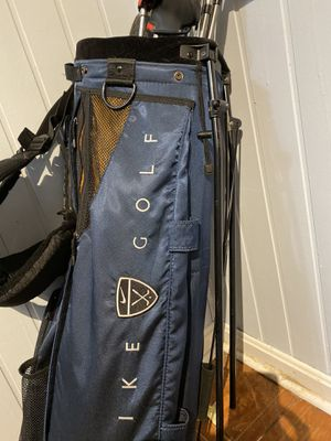 Nike golf bag and clubs!! for Sale in Leesburg, VA