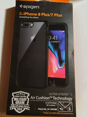 Spigen case for iPhone 7 plus and 8 plus for Sale in San Diego, CA