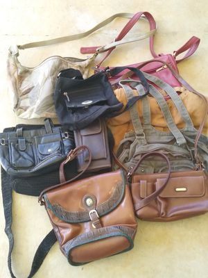10 purses some leather for Sale in Greenville, SC