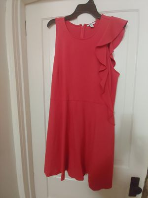 Peach casual dress size XXL with ruffle sleeve for Sale in Pottstown, PA