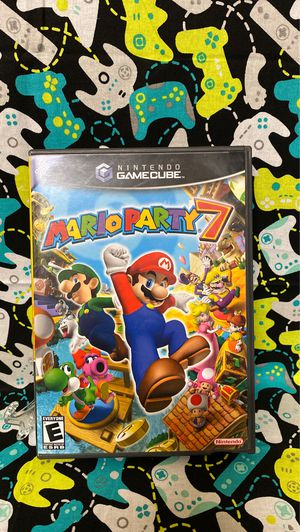 Gamecube Mario Party 7 complete for Sale in Homestead, FL