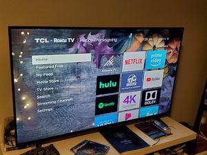 TCL HDTV LED 4K HDR Smart Tv RoKu Built In WiFi for Sale in Atlanta, GA