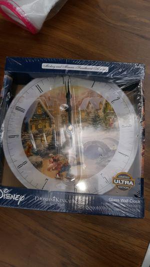 "Thomas kinkade ""Disney "" clock for Sale in Goodlettsville, TN"