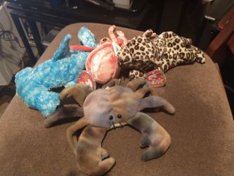 1996 Original Beanie Babies With Collide The Crab Value That $8,000 for Sale in Woodland,  CA