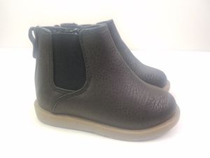 Childrens Place Toddler Girls Chelsea Boots Size 4 Black pebbled for Sale in Walton Hills, OH