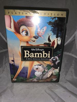 Walt Disney Bambi 2 Disc DVD Platinum for Sale in Villanova, PA