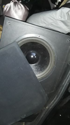 10 in theater subwoofer for Sale in Capitola, CA