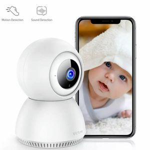Victure 1080P Home Security Camera Wireless Indoor Surveillance Camera Smart 2.4G WiFi IP camera for Sale in Birmingham, AL