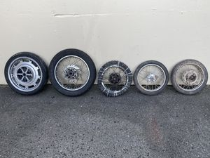 Motorcycle and Minibikes wheels FREE! for Sale in Tacoma, WA