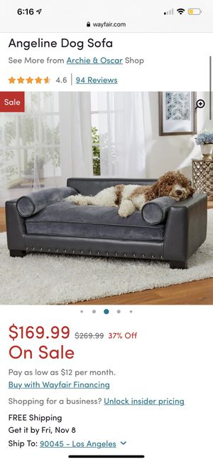 Dog couch for Sale in El Segundo, CA