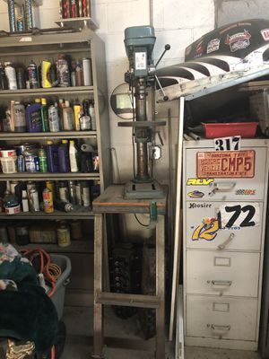 Drill press with stand for Sale in Phoenix, AZ