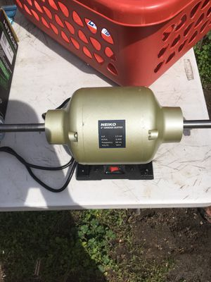 Neiko Benchtop Grinder & Buffer for Sale in Lodi, CA