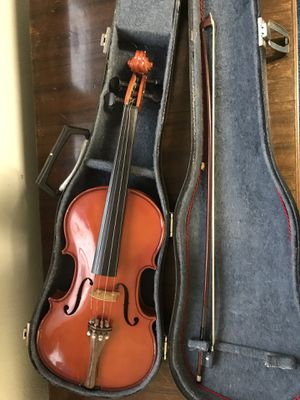 Violin with reed and case for Sale in Norfolk, VA