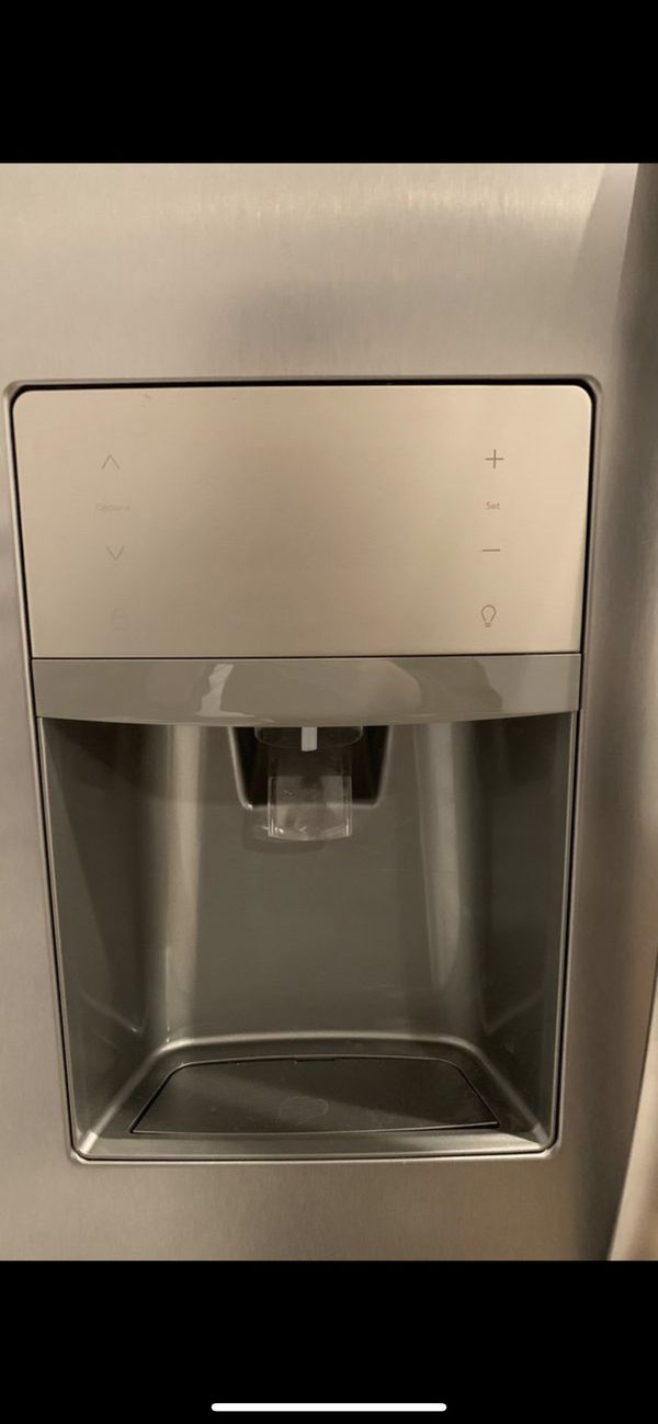 Brand New Stainless Steel Side-by-Side Counter-Depth Refrigerator