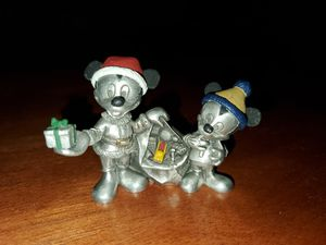 Disney Pewter Mickey Mouse and Nephew for Sale in Tacoma, WA