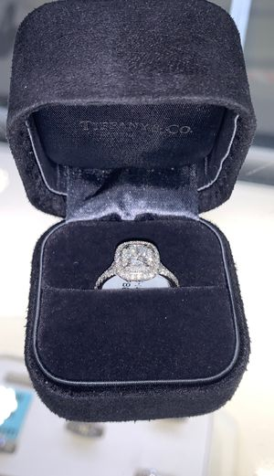 Tiffany and Co. platinum ring with diamonds for Sale in Houston, TX