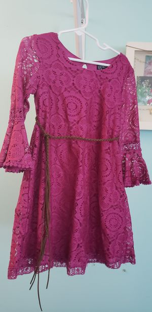 Trendy girl's dress size 6 for Sale in Bloomingdale, IL