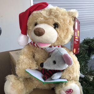 Christmas Singing Teddy Bear 🧸 for Sale in Tempe, AZ