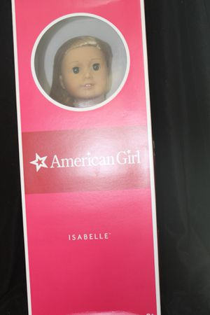 "2014 American Girl 18 inch ""Doll of the Year"" Isabelle Doll New in box Retired! for Sale in Poinciana, FL"