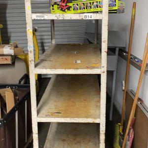 Metal Shelves With Wheels for Sale in Norwalk, CA